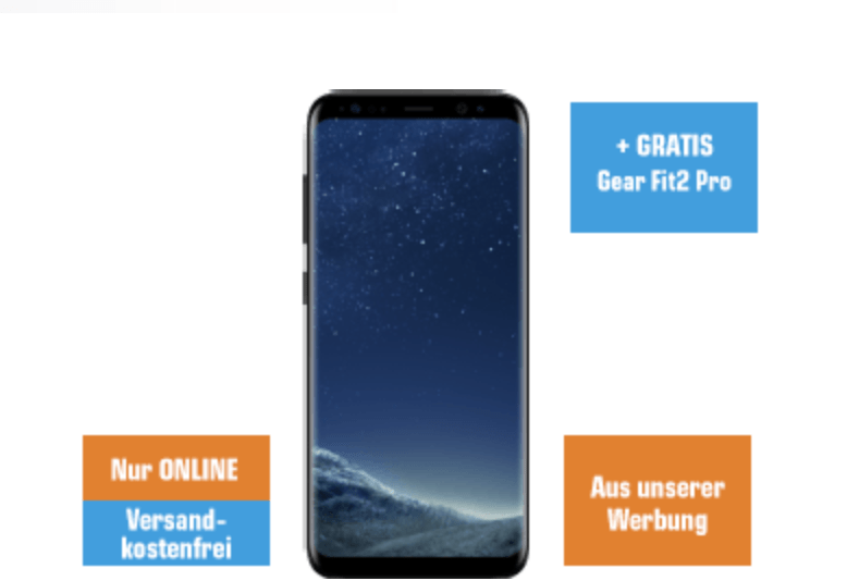 [saturn.at] Samsung S8 + Gear Fit 2 Pro za 377€