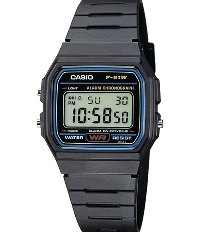 [amazon.de] Casio Collection F-91W-1YER Uhr Unisex um 9,44€