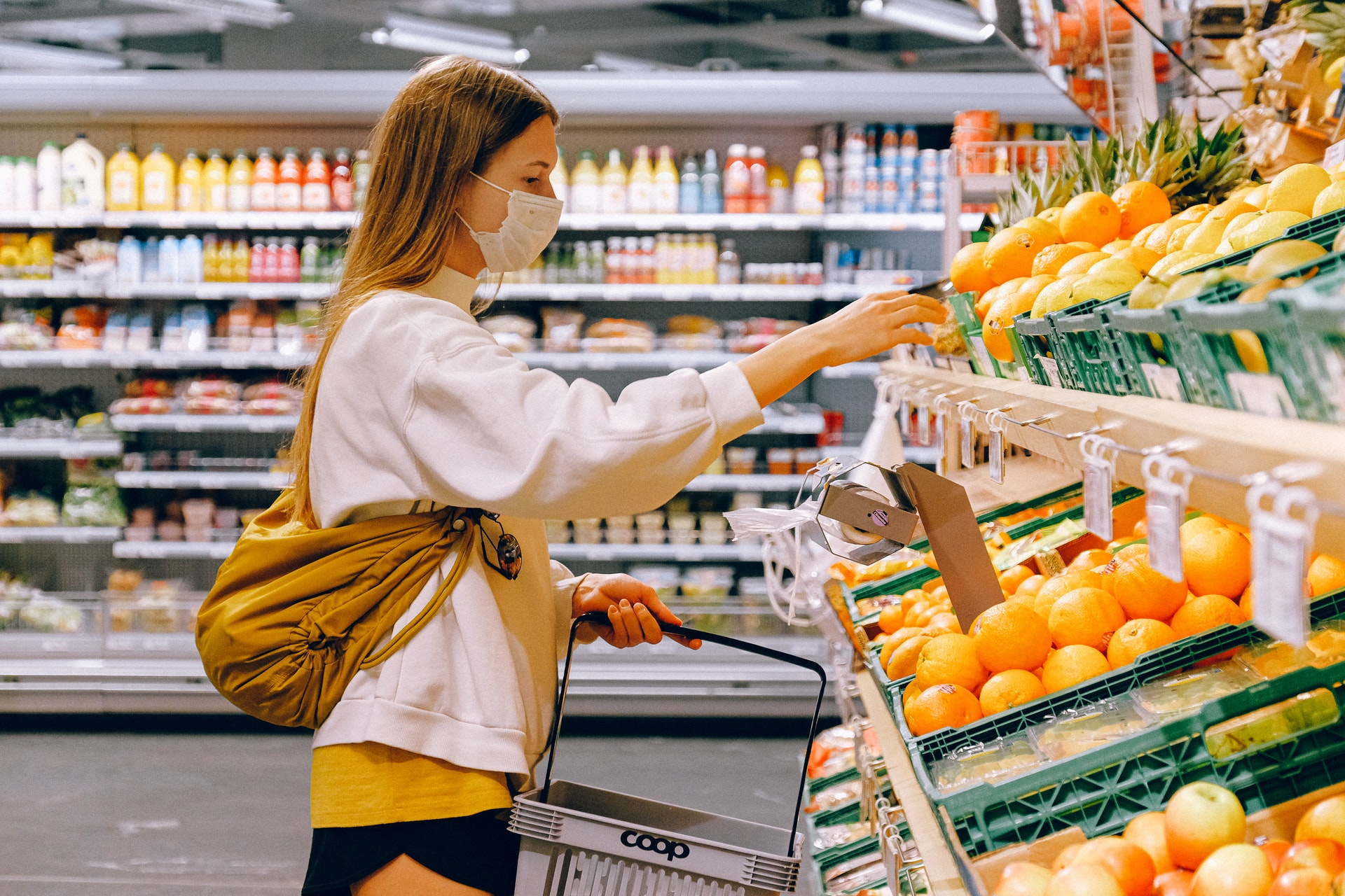 Supermarkt-Shopping